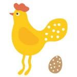 Comptine,jeux de doigts la poulette a pondu un œuf