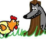 Chanson enfantine la poulette