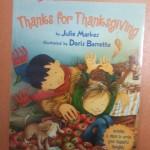 Livre sur Thanksgiving
