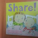 """Share"" book (livre pour apprendr eà preter en anglais)"