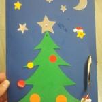 Fabriquer une carte de vœux pour noel