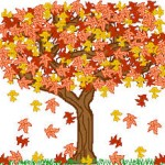 The leaves on the trees - chanson en anglais