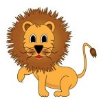 Intérêt pour l enfant de la chanson enfantine du lion