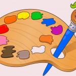 activité créative de peinture