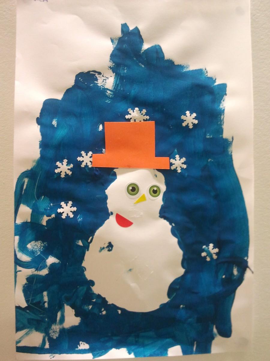 Fabriquer un bonhomme de neige avec des boites oeufs d s 2 ans et demi education - Faire un bonhomme de neige avec des gobelets ...