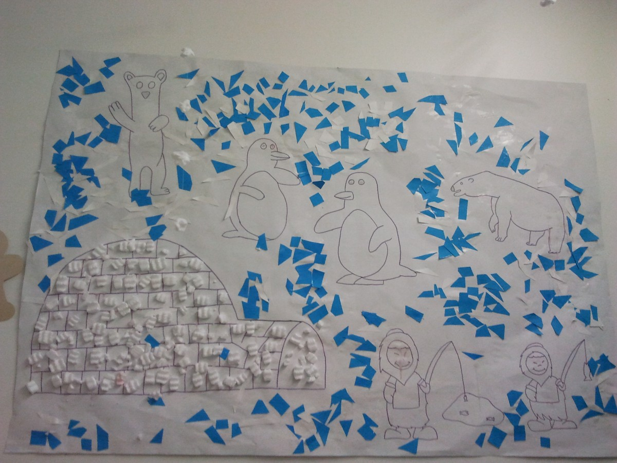 Banquise et ses animaux polaires education - Animaux pole nord ...