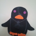Pingouin en collage