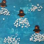 Les pingouins sur leur banquise