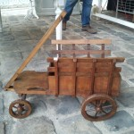 charrette en bois