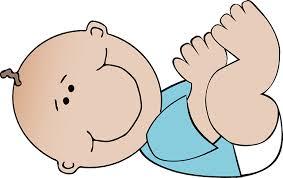 bébé allongé