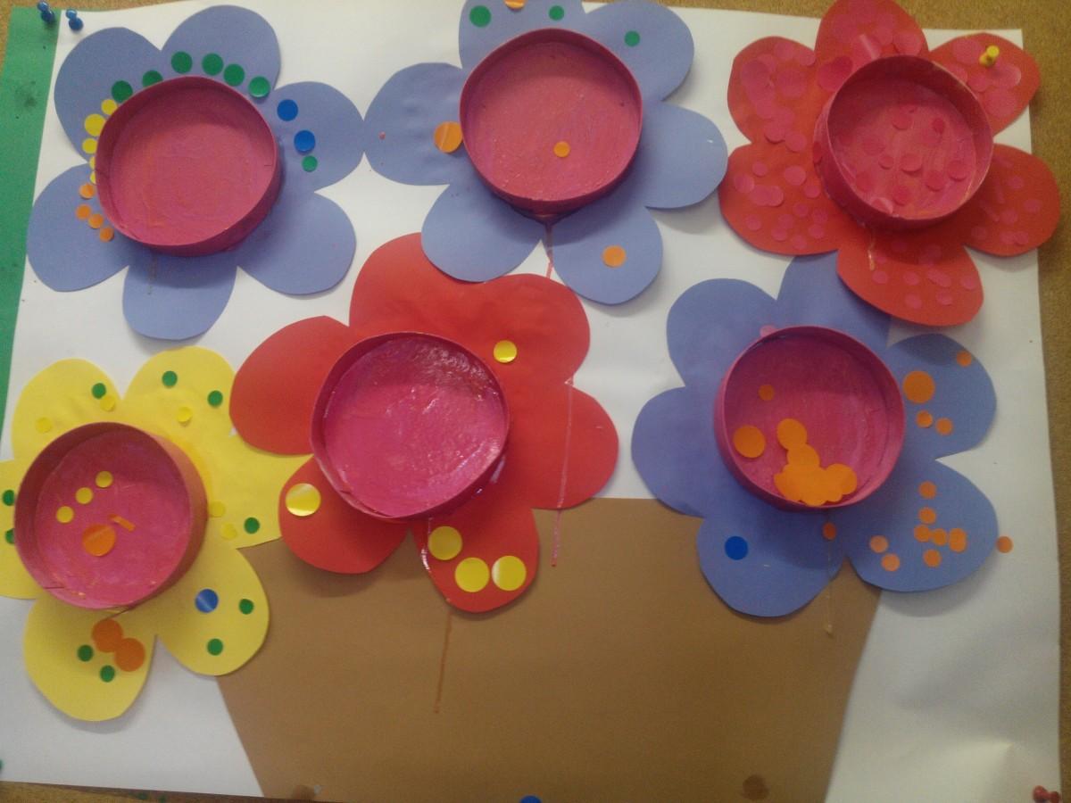 Fabriquer un bouquet de fleur / boite à bijoux de fête des mères