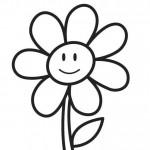 Activit de printemps coloriage d 39 une fleur education - Coloriage fleur 3 ans ...