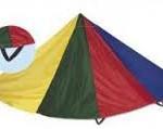 jeu du parachute pour les enfant
