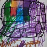 Coloriage d'Elmer l'éléphant