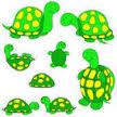 la famille tortue chanson pour enfant