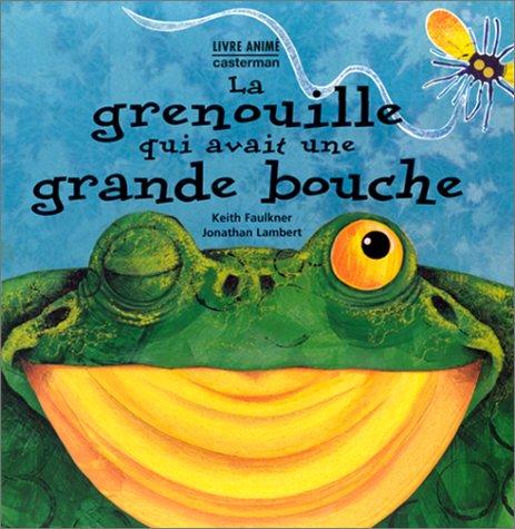 Histoire de la grenouille à grande bouche racontée avec des marionnettes(Dès 3 ans)