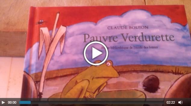 Pauvre verdurette: histoire enfantine racontée en vidéo