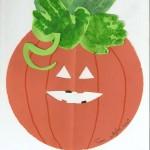 Halloween-créer sa citrouille en papier cartonné