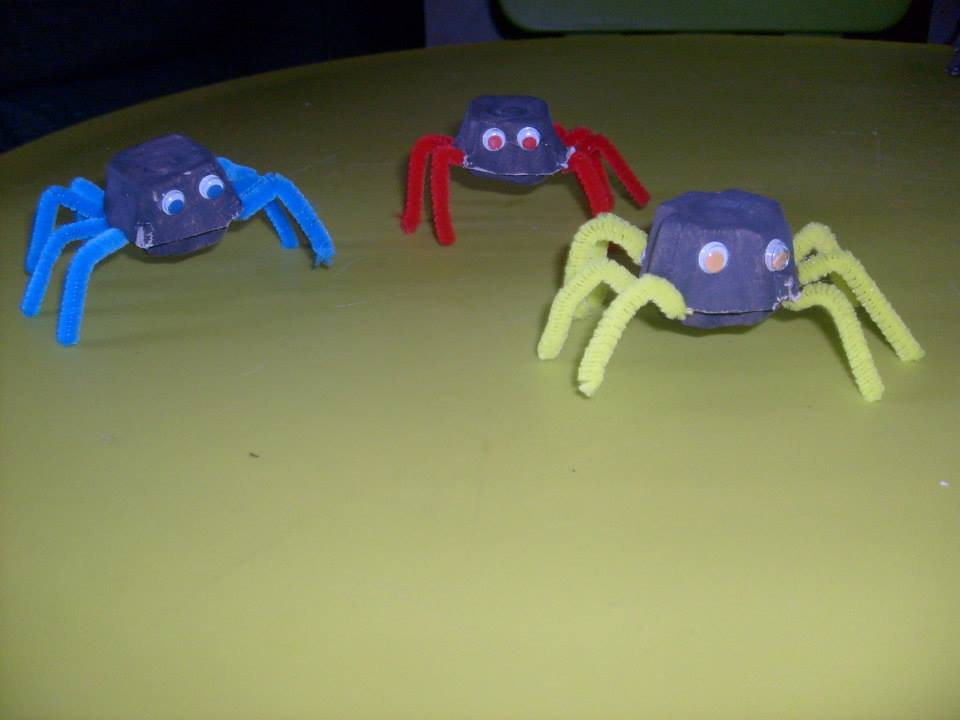 Halloween-araignées