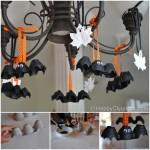 Halloween- chauves-souris facile à fabriquer