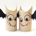 Halloween-chauve-souris en recyclage