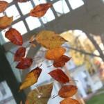 Guirlande d'automne facile à fabriquer
