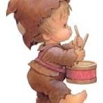 Chanson enfantine-L'enfant au tambour-accompagnement musical