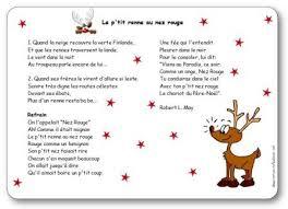 Chanson enfantine d 39 hiver le petit renne au nez rouge - Dessin de renne au nez rouge ...