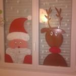 Motifs de noel pour décorer ses vitres à la peinture à l'eau