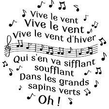 Chanson Enfantine Vive Le Vent Education Enfancefr