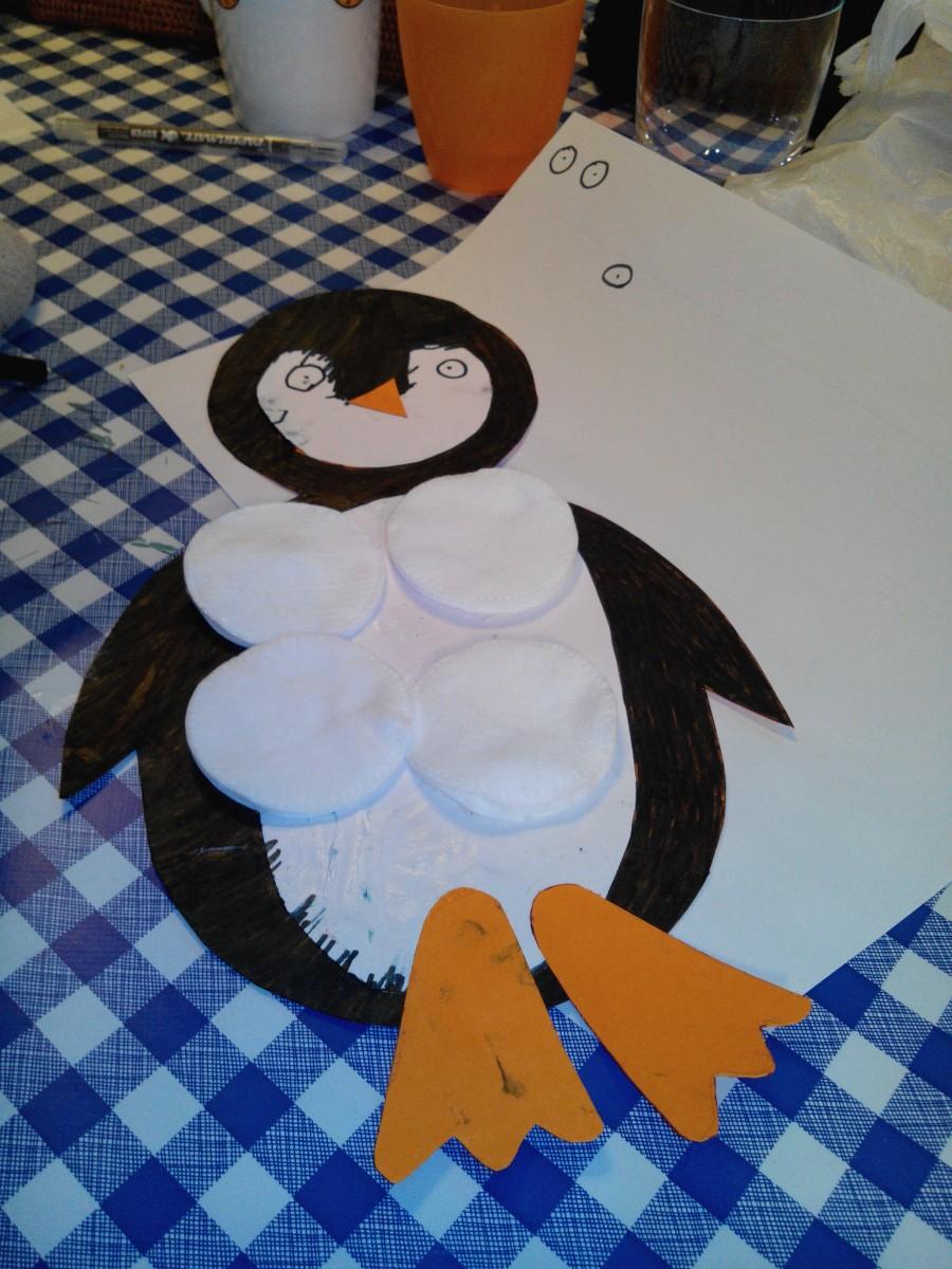 Chanson enfantine et paroles du papa pingouin
