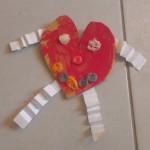 Saint valentin- coeur rigolo