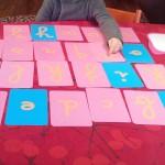 Les lettres rugueuses Montessori Pour apprendre à lire et à écrire