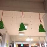 Sapins de noel à accrocher pour décorer