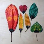 Petits animaux en feuille d'automne