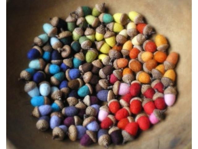 glands colorés