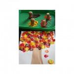Activité manuelle pour l'automne: peinture et feuilles