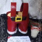 Petit panier en Père-Noel