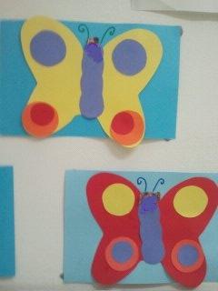 Activité manuelle fabriquer un papillon en carton