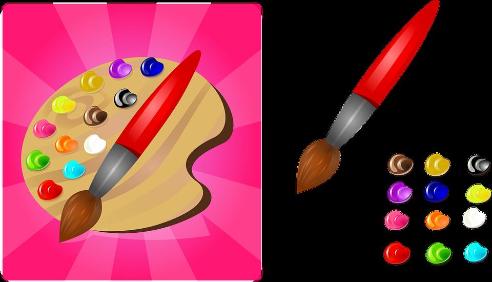 Recette de la peinture comestible pour les enfants