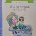 """Album Montessori """"Et si on rangeait? Avec Arthur et Mila"""""""