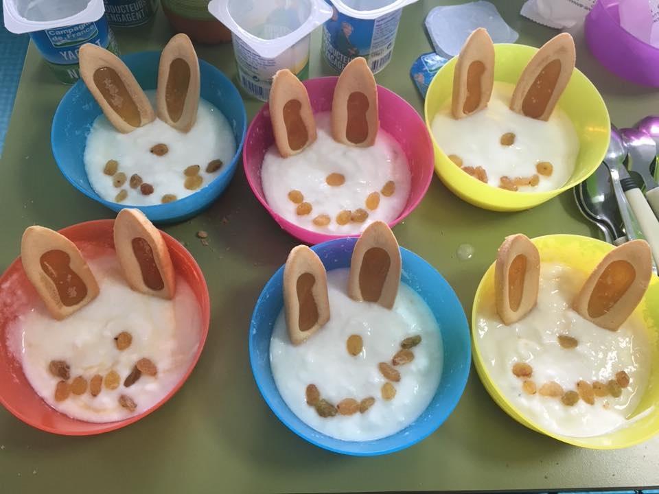 Semaine du goût: lapins à croquer