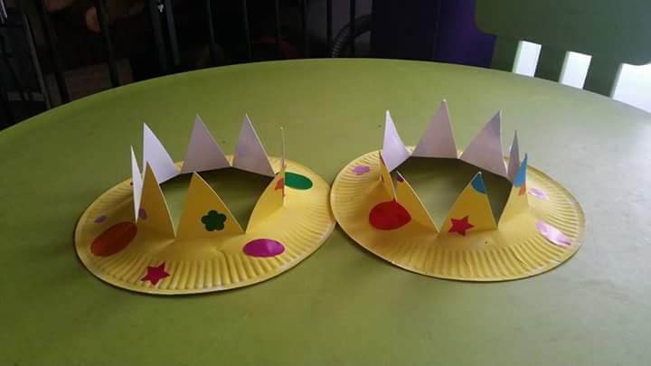 créer sa couronne des rois (Dès 2 ans)