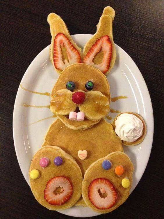 Pancakes pour la chandeleur avec les enfants