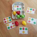 La boite à œuf: activité facile à réaliser pour Pâques