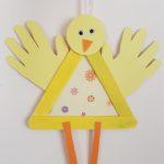 Fabriquer un poussin pour Pâques
