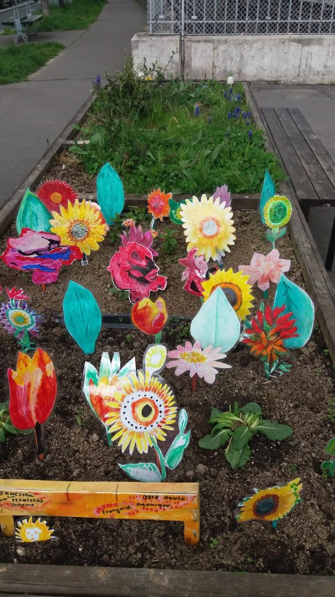 Fleurs de printemps à fabriquer