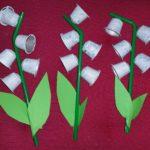 Activité manuelle pour le premier mai: brin de muguet