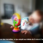 La roue des merveilles, un jeu idéal pour faire patienter bébé
