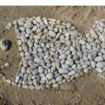 Land'art dans le sable
